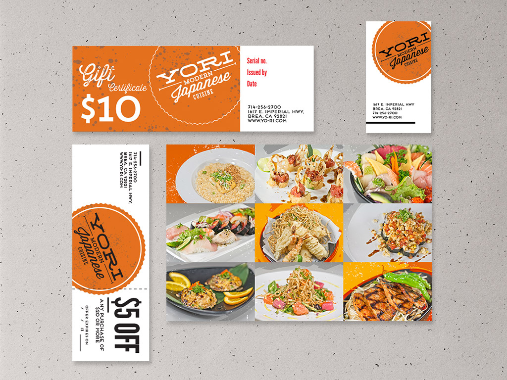 Business Card & Coupons