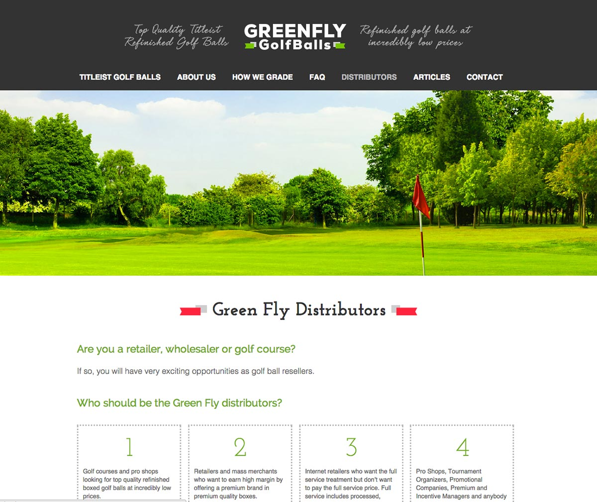 GreenFly Golf Balls