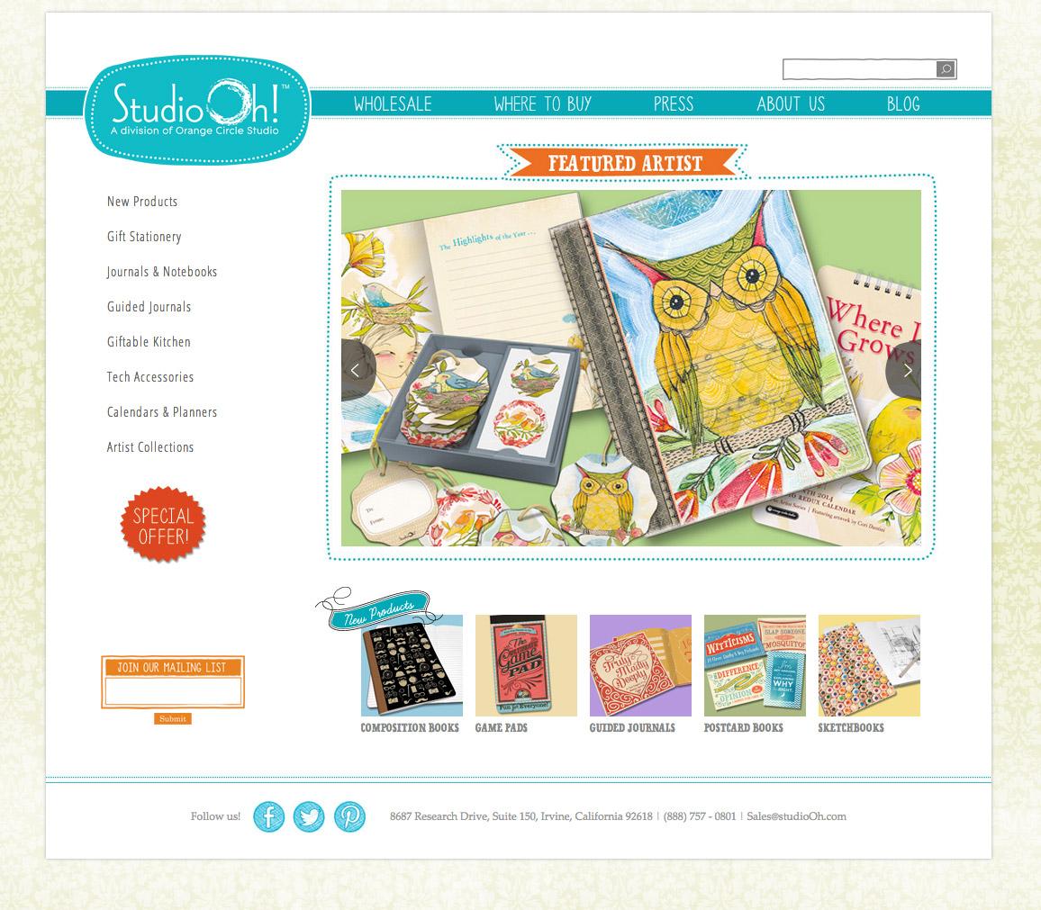Studio oh identity design Oh design