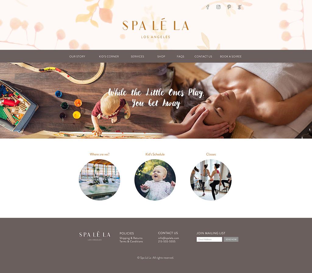 Spa Lé La Website